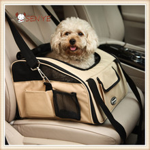 High Quality Unique Pet Car Carriers / Dog Car Seat Protector / Pet Car Bag