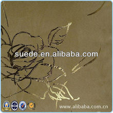 fashionable new product Good handfeel suede wallpaper fabric