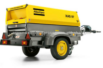 Atlas Copco Portable Air compressor(Atlas Copco mobile screw air compressor) Model XAS37Kd XAS47Kd XAHS37Dd XAS47Dd XAS47DdG