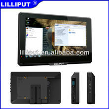 "LILLIPUT NEW 7"" capacitive touch lcd monitor with av input"