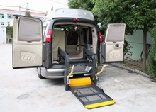 WL-D Hydraulic wheelchair lift for van for disabled with CE certificate loading capacity is 350KG
