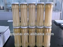 on sale canned white asparagus spear in glass jar