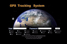 vehicle gps tracking platform /location tracking software with Google map