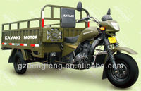 175CC&200CC Water cooled KV175ZH-C3 Strong Army Green Cargo Three wheel motorcyle