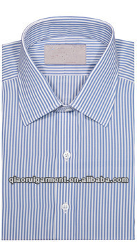 Spring Collection Light blue Slim fit new Oxford High quality leisure long sleeve button down shirt for men