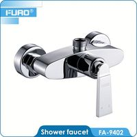 FUAO Washroom metal shower faucet leak repair