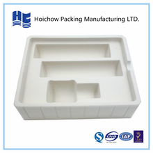 Plastic cosmetic tray blister flocking tray for cosmetic bottles packaging