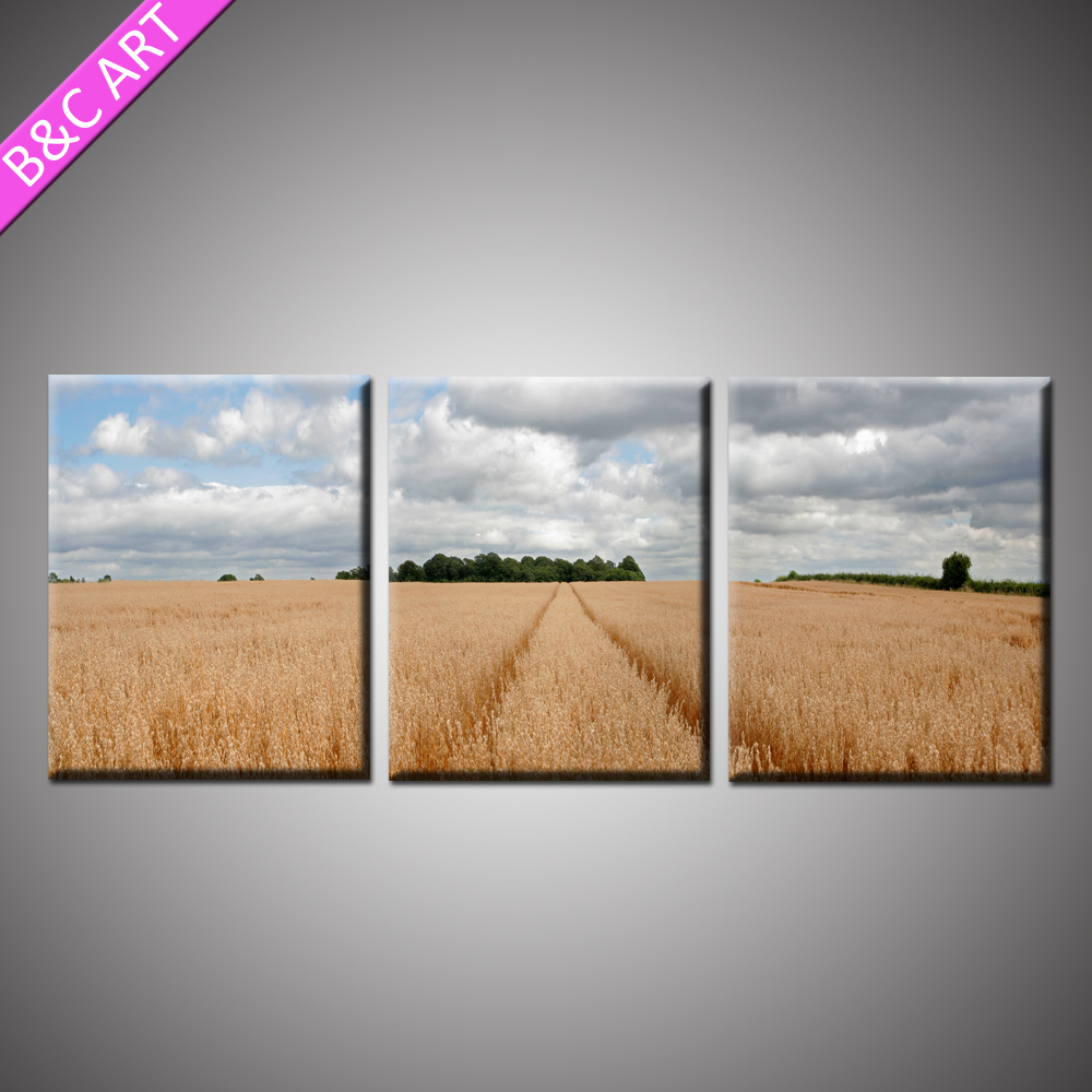 Beautiful scenery drawings painting picture art work canvas for home decoration