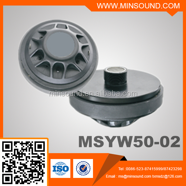 MSYW50-02 Titanium diaphragm Compression Tweeter Driver