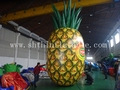 7.3m high giant inflatable pineapple,inflatable model for advertising
