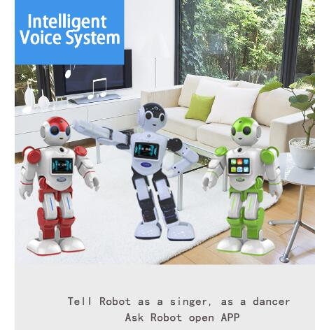 Newest Boss intelligent automatic talking robot humanoid intelligent nao robot walking speaking dancing robot toys