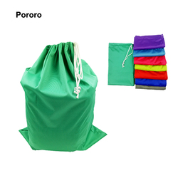 Polyester popular drawstring for swimming clothes wet bag