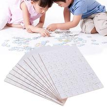 wholesale Custom Paper A4 Sublimation Blank puzzle Printable Jigsaw Puzzle for printing