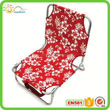 Commercial foldable sea beach chair/foldable beach chaise lounge chairs