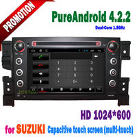 Android 4.2 for suzuki grand vitara 2 din 7 inch car dvd player with radio bluetooth TV 2011 2010 2009 2008 2007 2006 2005