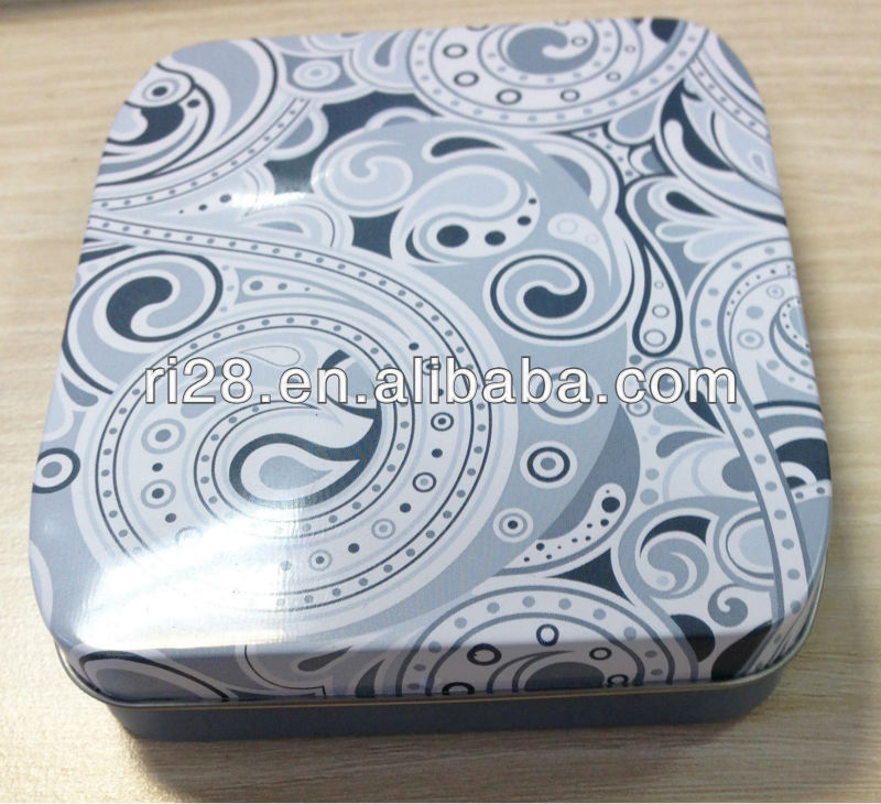 Tin case for pads