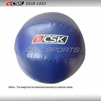 Wellknit quality pvc medicine ball