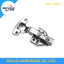 Stainless steel hydraulic hidden hinges cabinet hardware furniture fittings