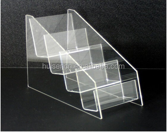 4 Tier Acrylic Brochure/ Leaflet Display Stand