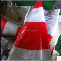 plastic traffic cone shape for reflective traffic cone sleeves