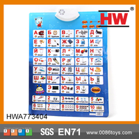 Magic Learning Toys English Learning Educational Wall Charts
