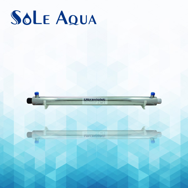 TUV-12A UV light for RO purifier system stainless steel UV water sterilizer