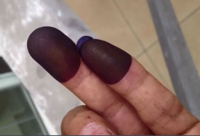 Vote ink / Election ink / Indelible ink