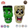 ICTI certificated custom made halloween monster shape plastic cup
