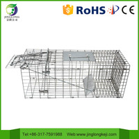 humane live multi catch wire mesh metal folding mouse rat animal trap cage, Three Sizes JL-2015