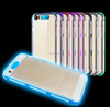 Creative LED Light up Incoming Call Flash Cover Anti-Scratch Clear Back Case for iPhone 7