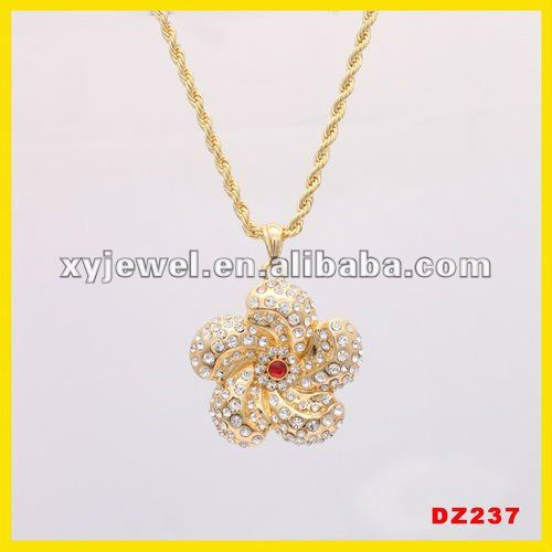 crystal pendant necklace diamond snowflake pendant islam jewelry