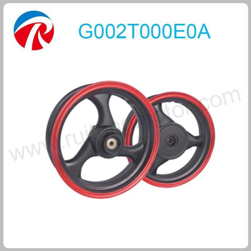 Three leaf falcon scooter aluminum 13 inch alloy wheel