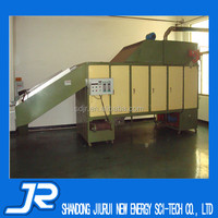 2015 China stainless steel belt microwave fish drying equipment manufacturer
