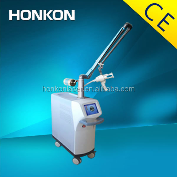 HONKON SM10600CCb Deep Wrinkles Removal Co2 Fractional Laser Machine , High Power Laser