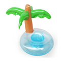 Custom Plastic Inflatable palm tree beer cooler can holder