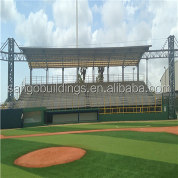 Modern steel structure Soccer stadium with high quality
