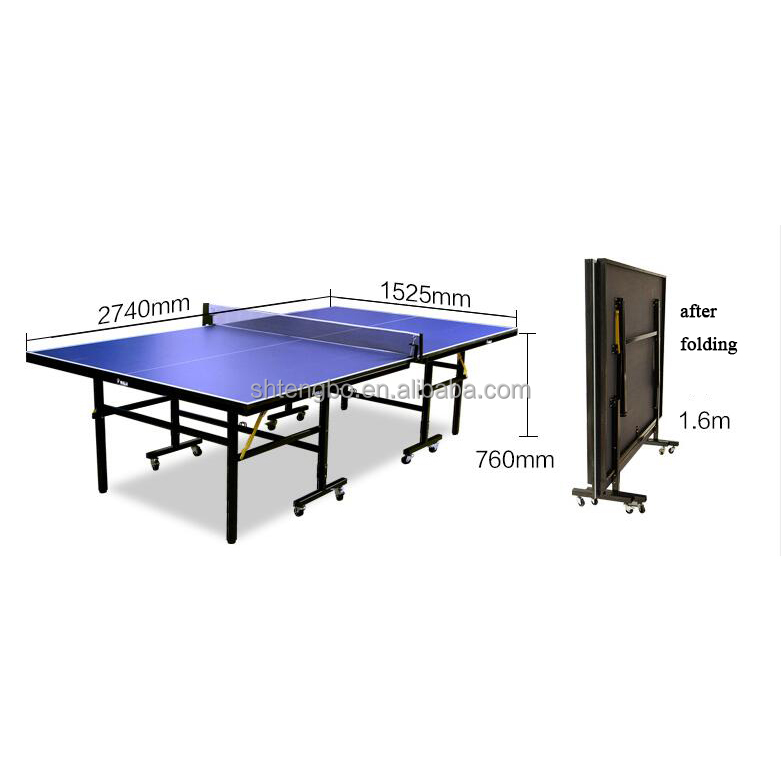 cheap price outdoor table tennis table folding pingpong table