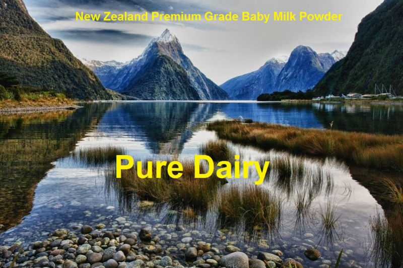 New Zealand Premium Grade Baby Milk Powder (3 stages, produced and packed in New Zealand)