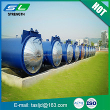 Made in China low price carbon steel aac autoclave horizontal industrial autoclave supply vessel for sale