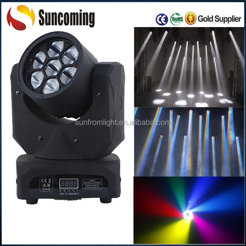 7x10w Moving Head Beam Effect Disco Led Stage Lighting