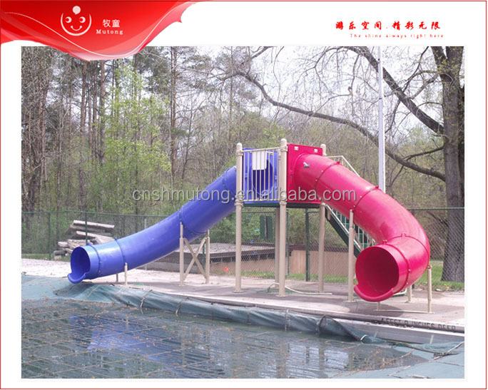 Pool Game Large Plastic Water Slide For Sale In Summer