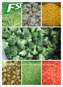 2016 Exporting cooking frozen vegetable and fruits manufacturer