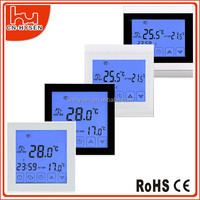 Hysen European Standard Installation Programmable Touch Screen Thermostat 16A For Infrared Heating