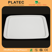 Most popular 11.5'' print plastic melamine tray without handle