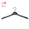 plastic high end thin shoulder uniform hanger with notches
