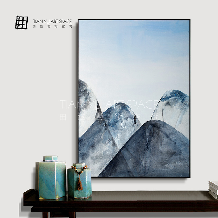 Pure Handmade mountain oil Painting for wall decor