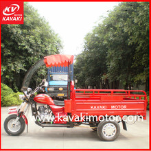 3 wheel tekerlekli motosiklet 3 wheel motor iron canopy electric trike container packing