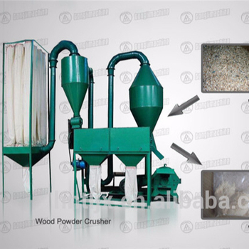 China Wood Powder Crusher with low price for sale
