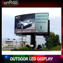 2014 New inventions outdoor led street advertising screen