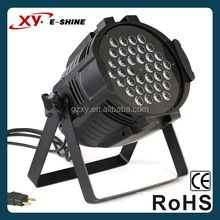 RGBW 4 in 1 36pcsx3w IP20 Top selling high well-deserved reputation led light flat par can